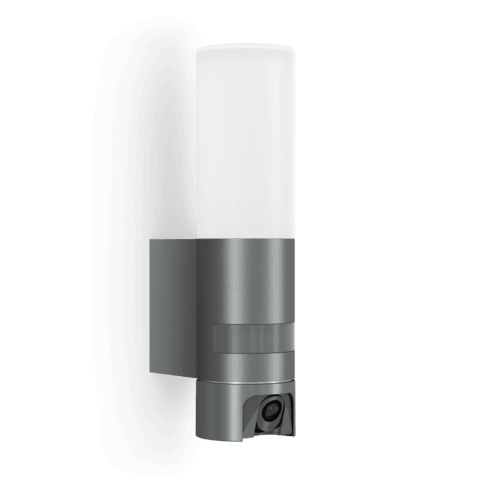 STEINEL Senzorska svetilka z kamero L620 CAM ANTRACIT