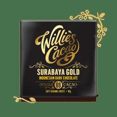 Willies Cacao Čokoláda Indonesian, Surabaya Gold hořká 69%, 50g