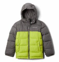 Columbia Y Pike Lake Hdd Jkt otroška bunda, siva, XXS