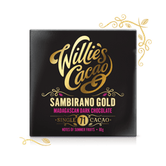 Willies Cacao Čokoláda Madagascan Gold hořká 71%, 50g