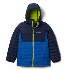 Columbia Boys Powder Lite Hdd Jkt fantovska bunda, modra, XS