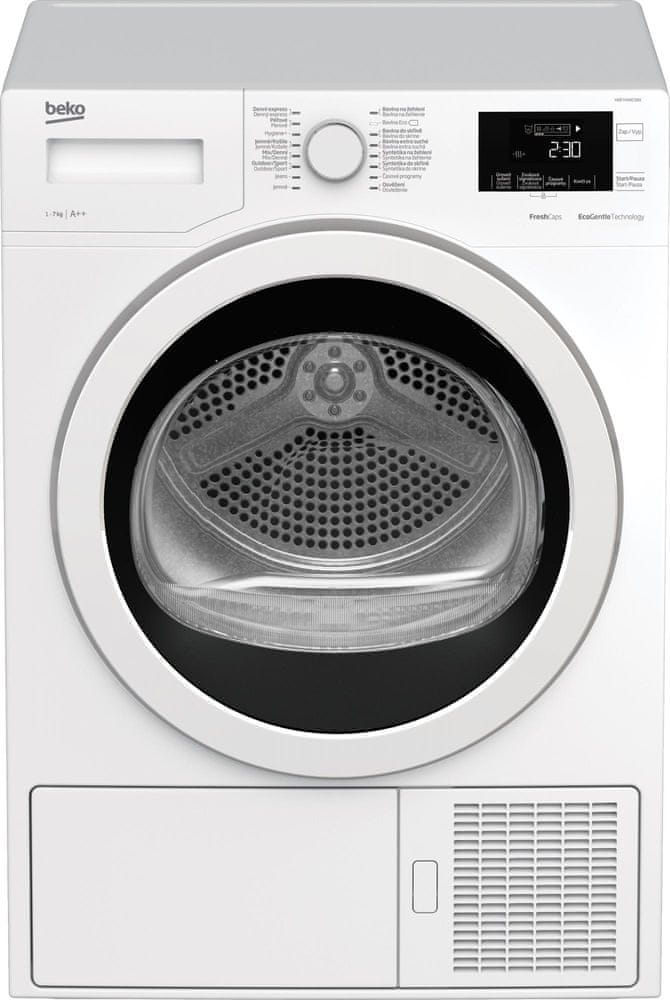 Beko sušička prádla HDF7434CSRX