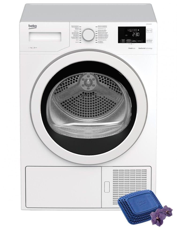 Beko sušička prádla HDF7434CSRX - použité