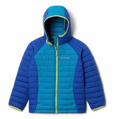 Columbia Girls Powder Lite Hdd Jkt dekliška bunda, modra, XS