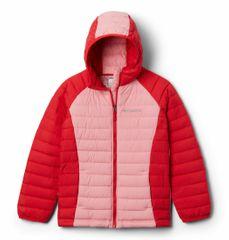 Columbia Girls Powder Lite Hdd Jkt dekliška bunda, roza, XS