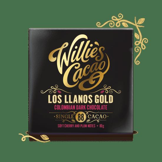 Willies Cacao  Čokoláda Colombian Gold, San Agustin hořká 88%, 50g