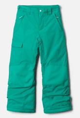 Columbia Y Bugaboo II Pant otroške zimske hlače, zelene, XS