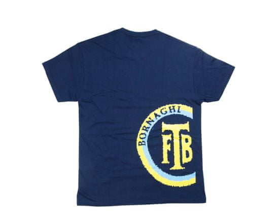 Bornaghi BGH 103, Tričko střelecké, s krátkým rukávem - tmavě modré, logo BGH žluté, Bornaghi Barva: Modrá, Velikost: XL