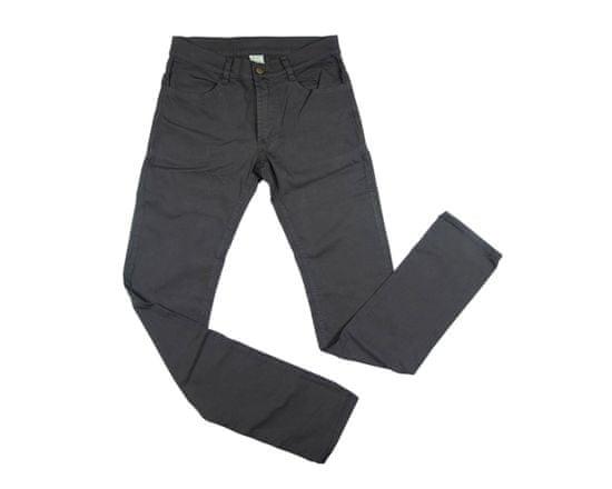 Manopory 1811 Kalhoty Inuit strec Jeans - dámské Barva: hnědá, Velikost: 44