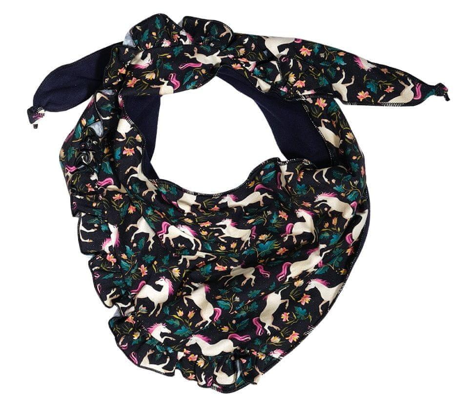 Maximo dívčí šátek černá uni