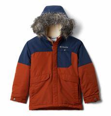 Columbia Nordic Strider Jacket otroška bunda, temno modra, XS