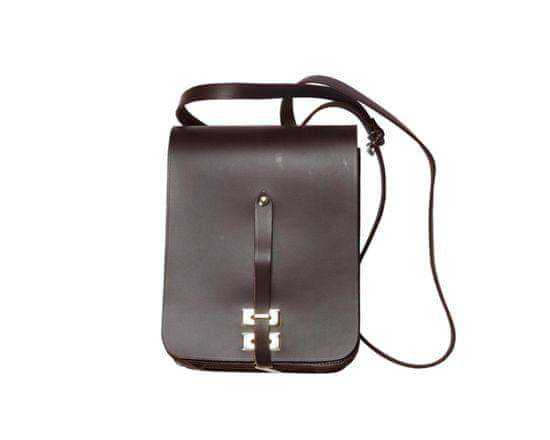 Garbacz myslivecká brašna RM-2 - hnědá, malá, kožená