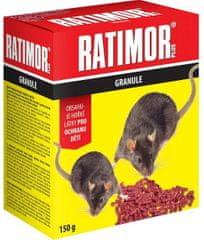 UNICHEM Ratimor plus granule bromadiolón (150 g)