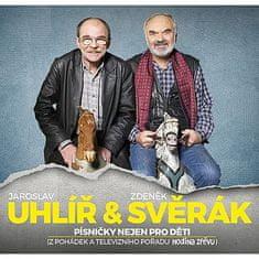 Svěrák a Uhlíř: Písničky nejen pro děti (3x CD) - CD