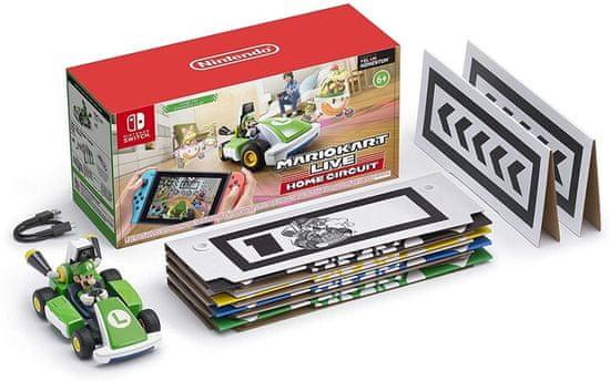 Nintendo Switch Mario Kart Live Home Circuit – Luigi igra (NSS427)