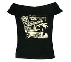 Rusty Pistons dámske tričko RPTSW56 Hawaii black/beige vel. 3XL