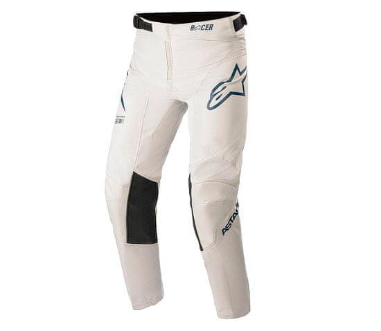 Alpinestars dětské kalhoty Youth Racer Braap light grey/dark blue