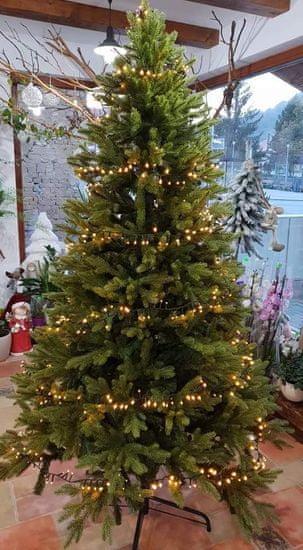 ArtTree Umelý vianočný stromček - Jedľa 3D exclusive 150 cm