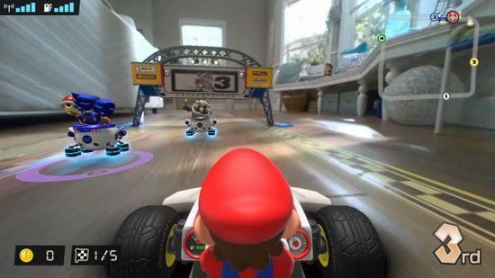 Nintendo Switch Mario Kart Live Home Circuit – Mario dirkalna igra (NSS428) - Odprta embalaža