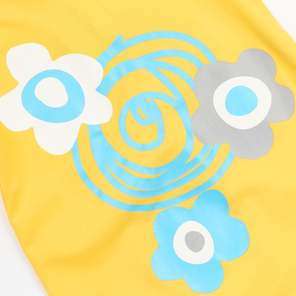 Garnamama dívčí noční košile žlutá 146