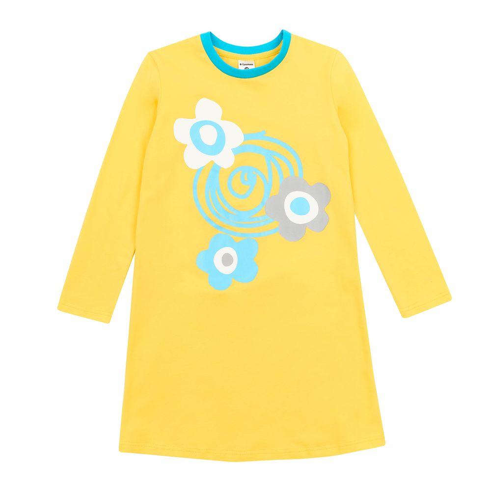 Garnamama dívčí noční košile žlutá 140