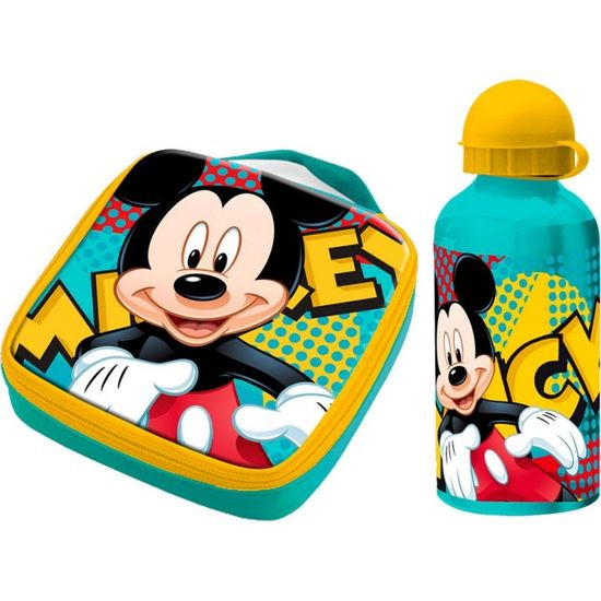 ZdenkaTri Termo taška / box na desiatu + ALU fľaša 400ml MICKEY MOUSE