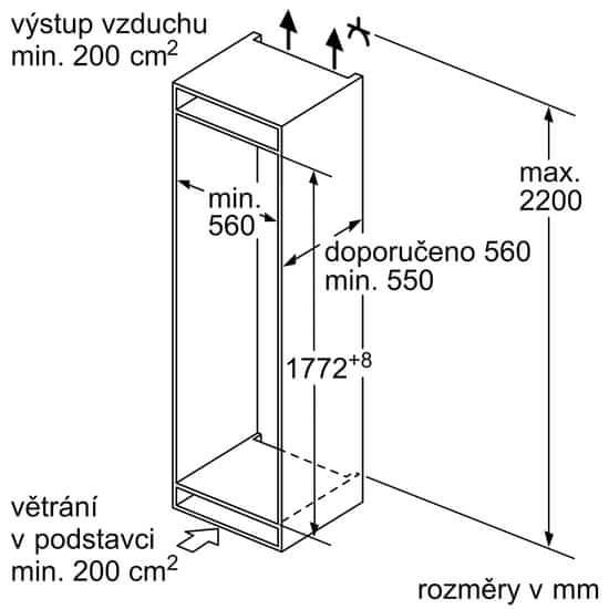 Bosch lodówka KIN86VSF0
