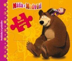 Máša a Medvěd Kniha puzzle