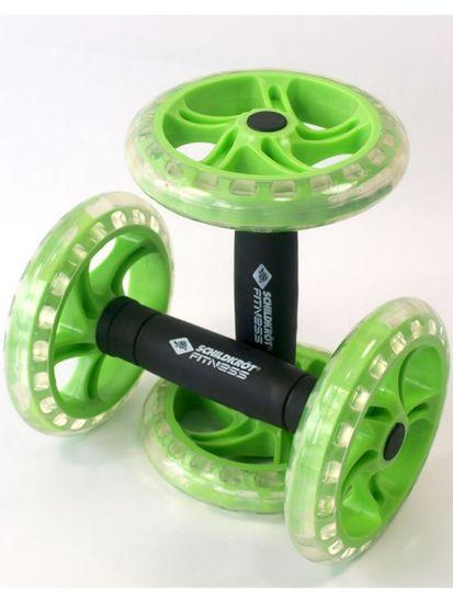 Schildkröt Fitness Dual Roller fitnes ručke