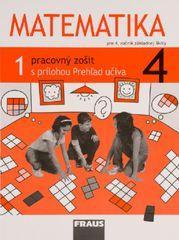 Matematika 4 - Pracovný zošit 1. diel