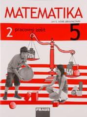 Matematika 5 - Pracovný zošit 2. diel