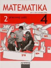 Matematika 4 - Pracovný zošit 2. diel