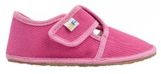 3F papuče za djevojčice BAREFOOT 03/3, 26, roza
