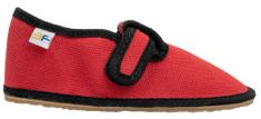 3F dječje papuče BAREFOOT 08/1, 28, crvene