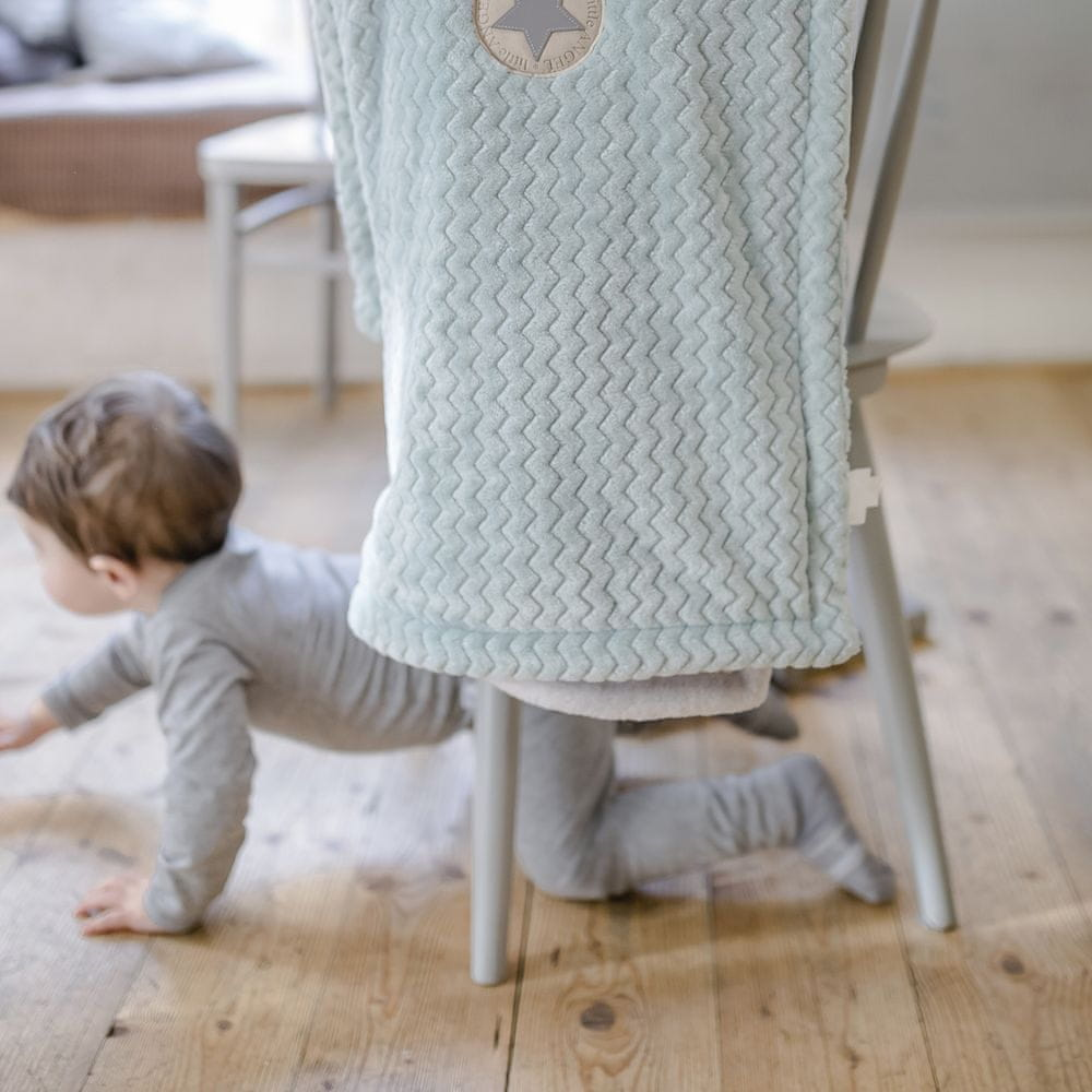 Little Angel deka dvojitá Mazlík Outlast šedá/šedá
