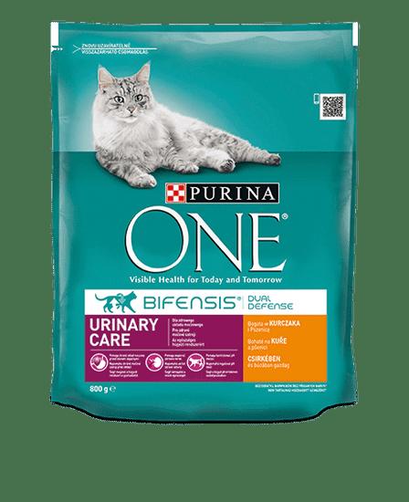 Purina ONE Bifensis Urinary Care s kuracím a pšenicou 8x800 g
