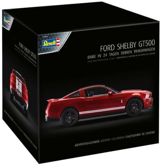 Revell Adventní kalendář Ford Shelby GT - 01031