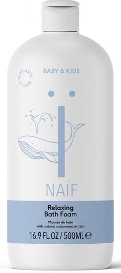 NAIF Relaxačná pena do kúpeľa 500ml