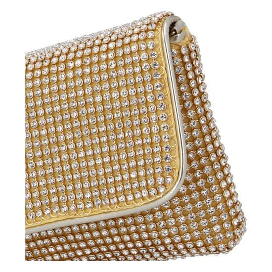 Michelle Moon Dámská společenská kabelka Sandras, zlatá