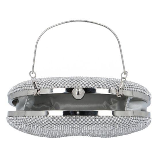 Michelle Moon Společenská dámská kabelka Romantic moon, stříbrná