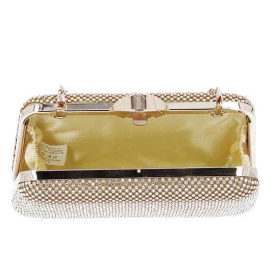 Michelle Moon Společenská dámská kabelka Elegant Firenze, zlatá