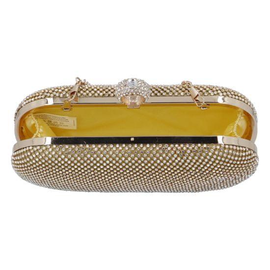 Michelle Moon Společenská dámská kabelka Romantic Nice, zlatá