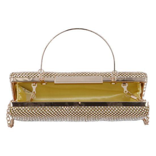 Michelle Moon Společenská dámská kabelka Romantic Amsterdam, zlatá