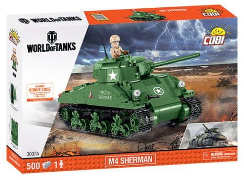 Cobi 3007A World of Tanks M4 Sherman