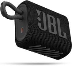 JBL GO 3, černá