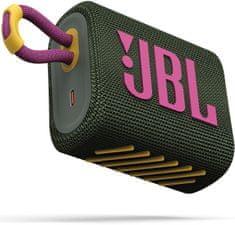 JBL bežični zvučnik GO 3, zelena