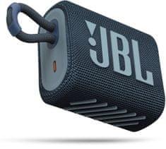 JBL brezžični zvočnik GO 3, moder