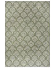 Hanse Home Kusový koberec Flatweave 104868 Green/Cream 80x150