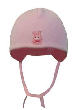 Yetty dívčí kojenecká čepice F2 XXXS růžová