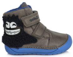 D-D-step fantovski čevlji barefoot 070-212A, 20, sivi